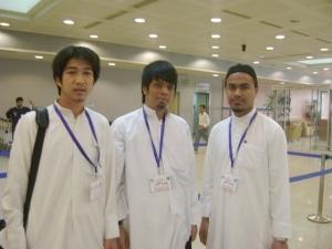 Di kawasan check-in Kuwait Airways di Kuwait Int'l Airport